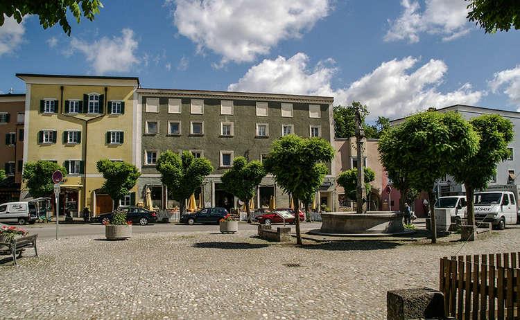 Der Marienplatz Laufen