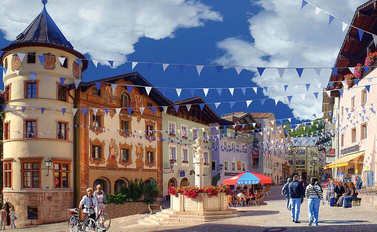 Markt Berchtesgaden Fussgaengerzone