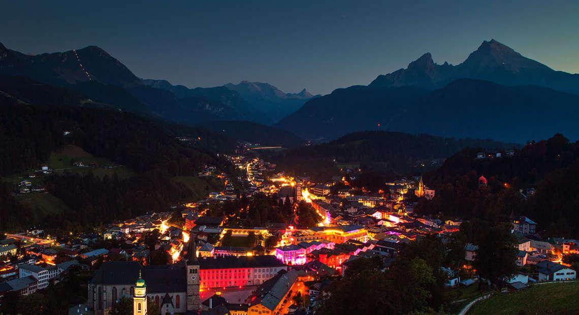 Markt Berchtesgaden Leuchtet