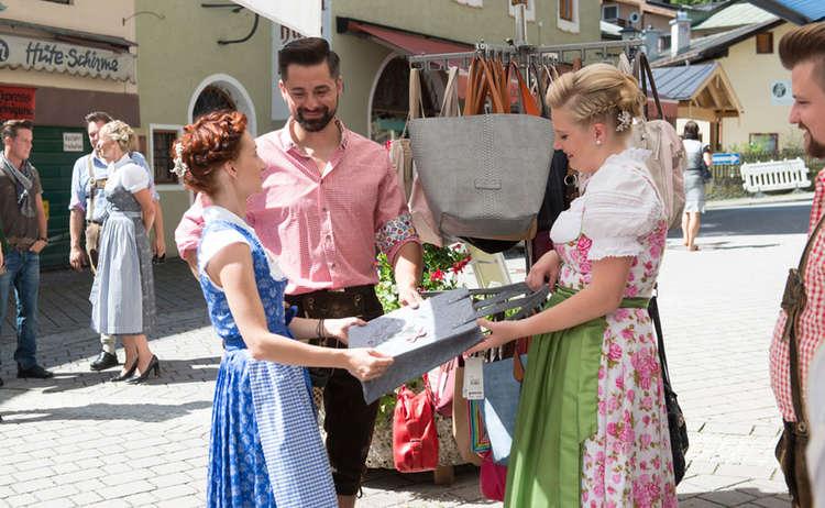 Marktfest Berchtesgaden Einkaufen Fussgaengerzone