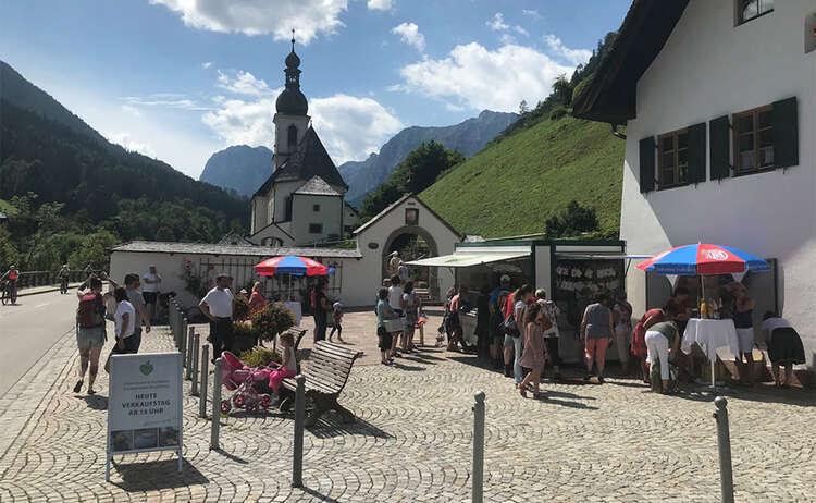 Markttag im Bergsteigerdorf Ramsau | heimisch & fair