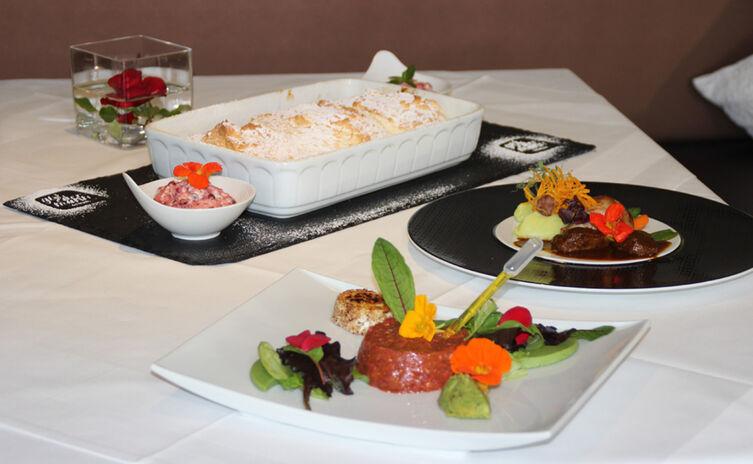 drei-Gänge-Menü im Hotel Gut Edermann