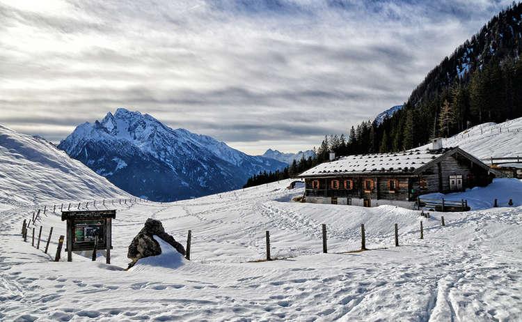 Mordaualm Ramsau Winterwandern