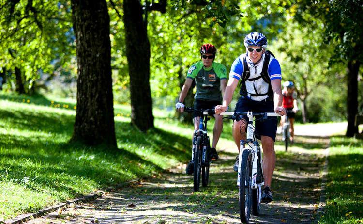 Mountain Biken Allee Berchtesgadener Land