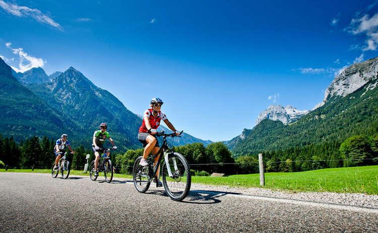 Mountain Biken Strasse Berchtesgadener Land