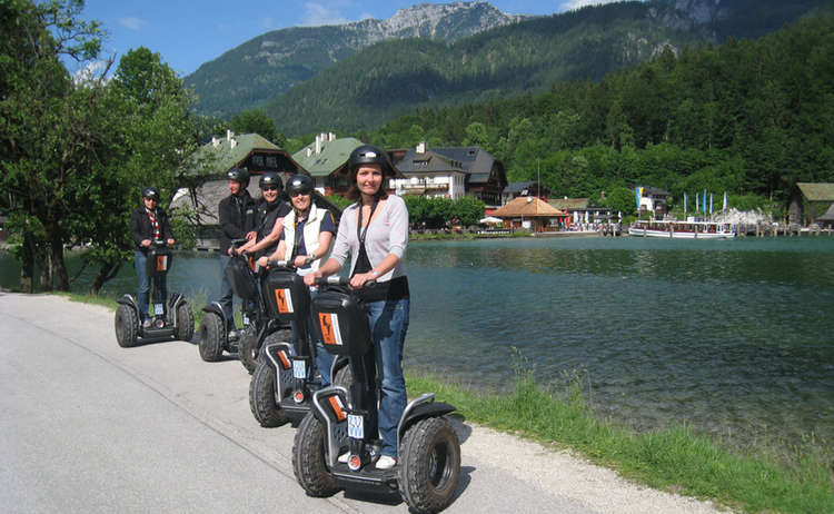 Segway fahren am Königssee, Mountain Move