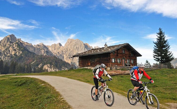 Mountainbike Berchtesgaden Litzlalm