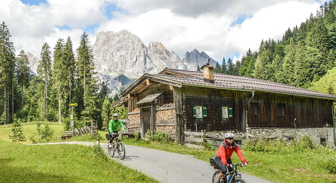 Mountainbike Hirschbichl