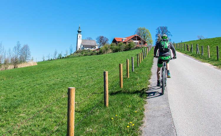 Mountainbike Johannishoegl Piding