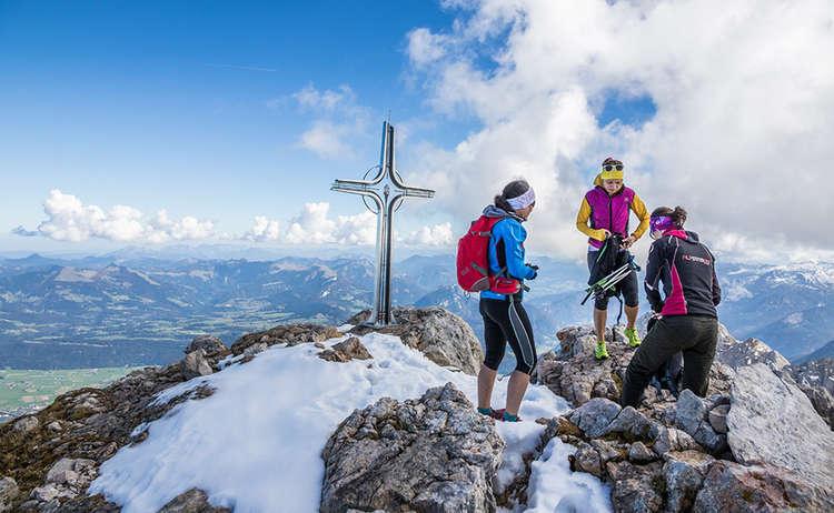 Mountaineering in the Berchtesgaden Alps