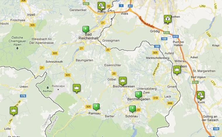 Movelo-Region Berchtesgadener Land