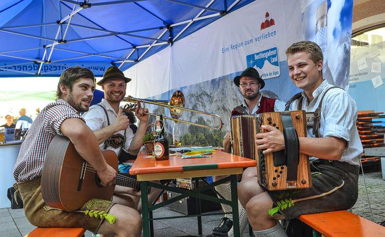 Musikalischer Auftakt beim Wander-Festival