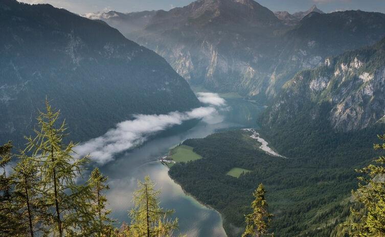 Nationalpark Berchtesgaden Archenkanzel Koenigssee