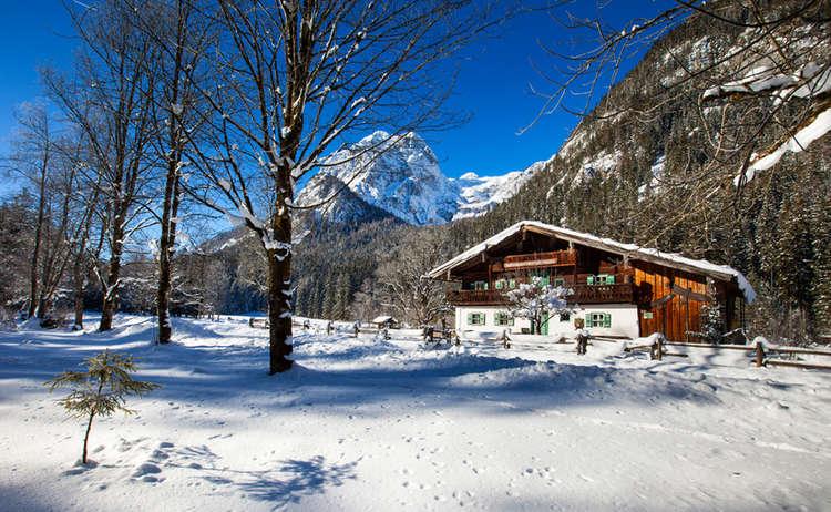 Das Klausbachhaus im Winter | Nationalpark Berchtesgaden