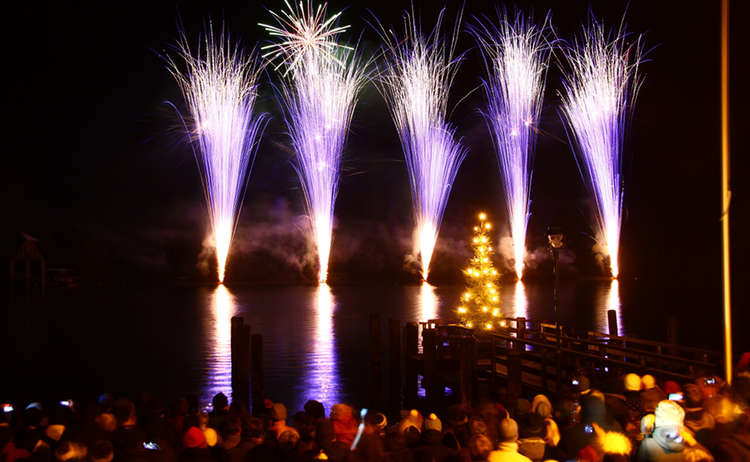 Neujahrsparty Koenigssee