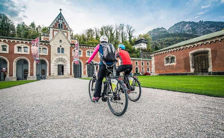 Biking to the Old Salt Works | Alpine Town Bad Reichenhall