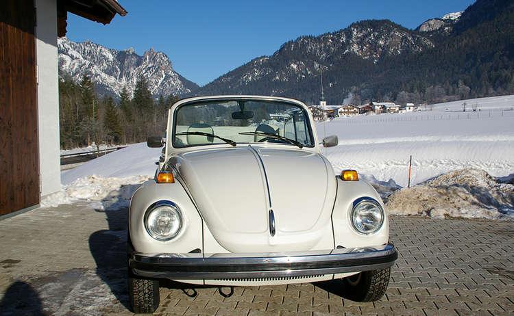Oldtimer VW Käfer Cabrio