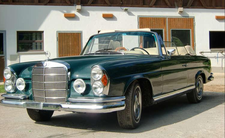 Oldtimer Mercedes Cabrio