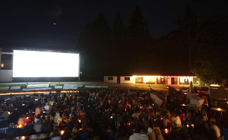 Open Air Kino Schoenau