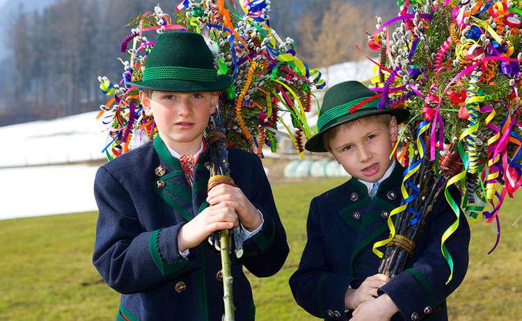 Palmboschn Berchtesgaden Folk Tradition