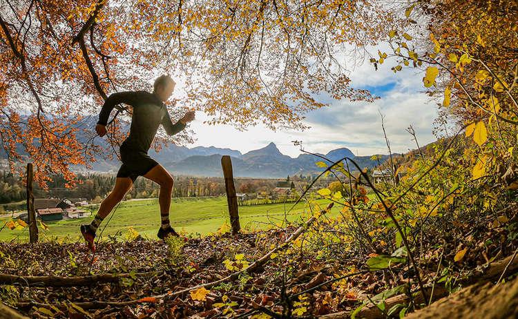 Philipp beim Laufen in Bad Reichenhall