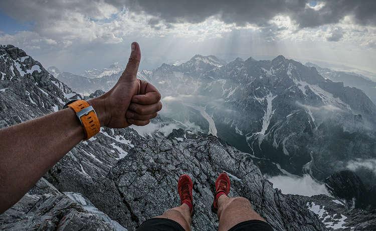 Philipp Reiter unterwegs in den Berchtesgadener Bergen