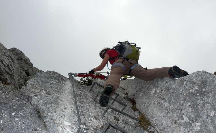 Pidinger Klettersteig Leiter