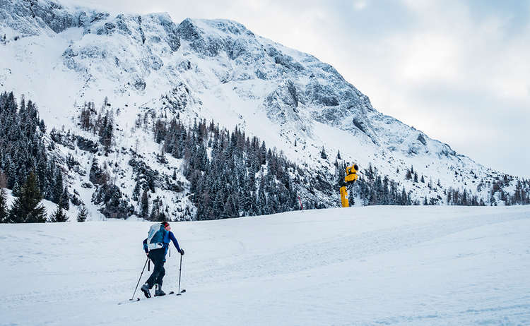 Pisten Skitour am Jenner