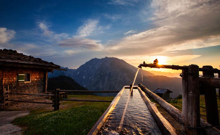 Priesbergalm Im Nationalpark Berchtesgaden