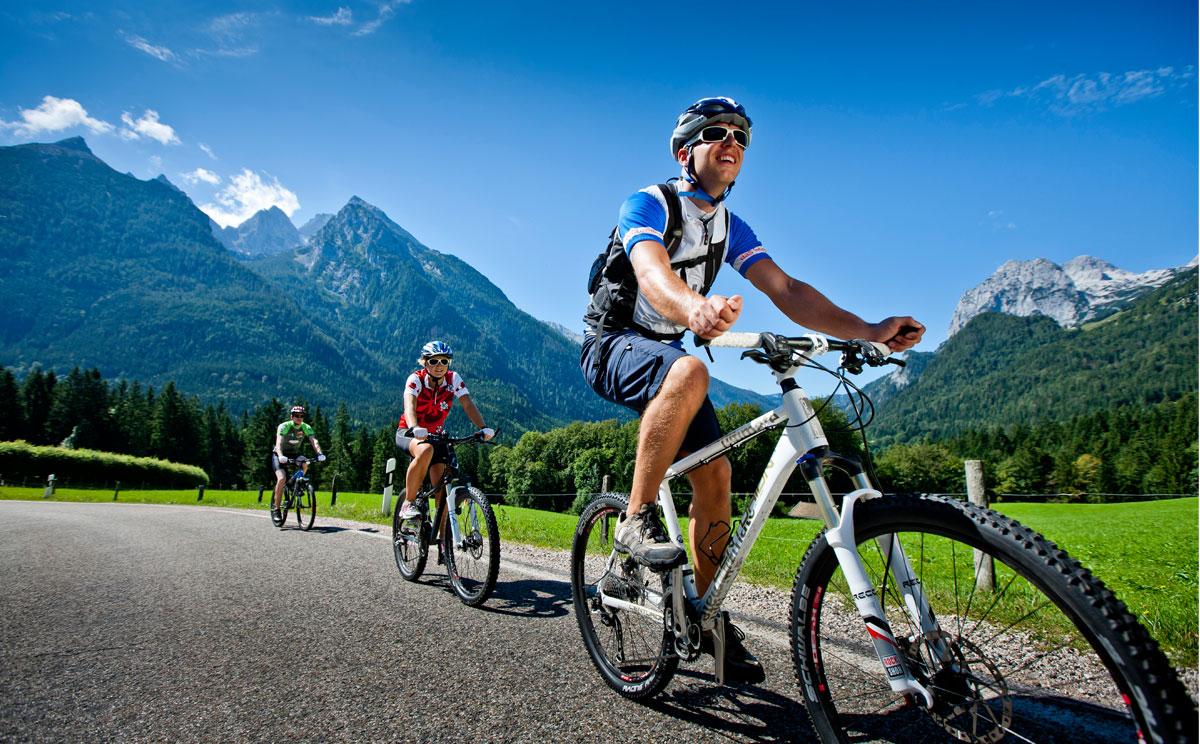 Rad und Mountainbike Paradies Berchtesgadener Land