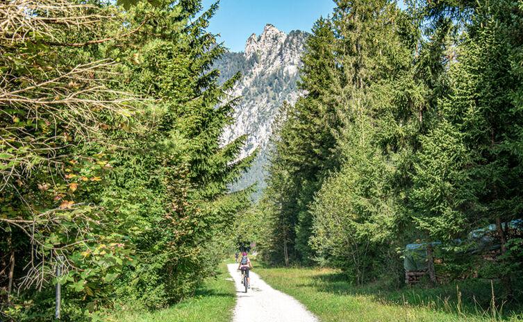 Berchtesgadener Radstern Nord: Unter der Schlafenden Hexe