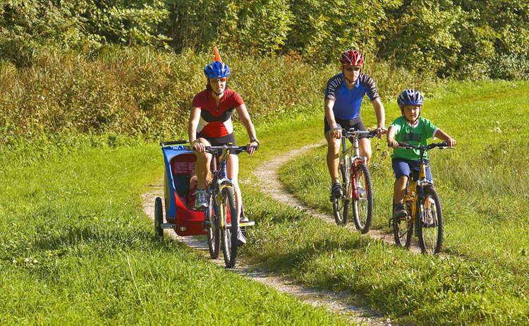 Familien-Radfahren im Rupertiwinkel