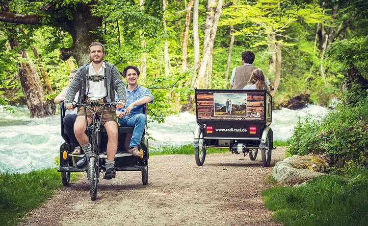 Radltaxi Koenigsseer Fussweg