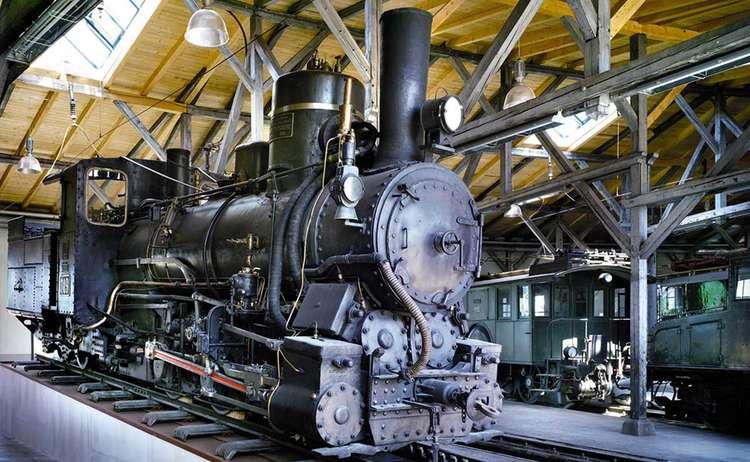 Rail Museum In Freilassing Berchtesgaden