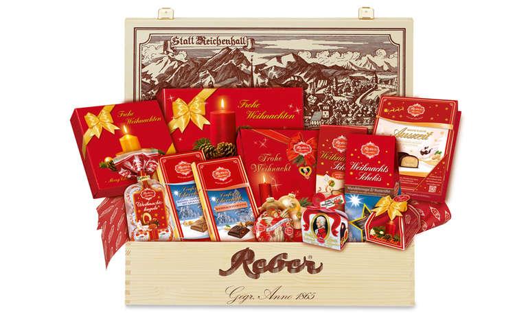 Reber Geschenkkiste Weihnachtswunder