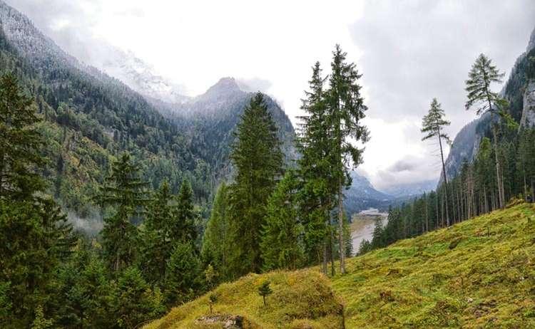 Regenwanderung Ramsau Wimbachgries Teaser
