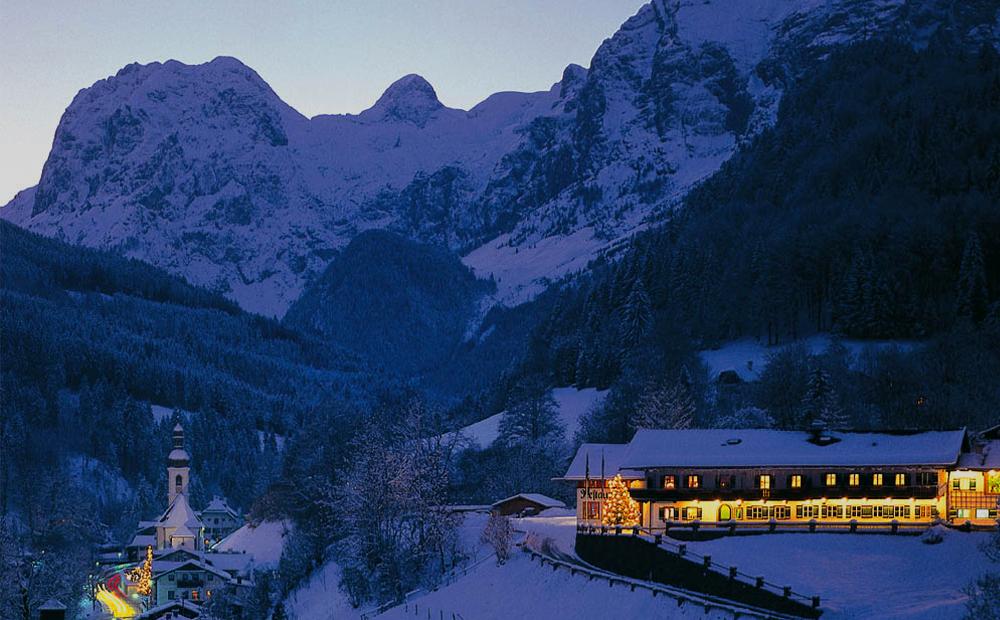Berghotel Rehlegg im Advent