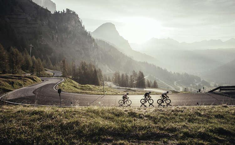 Rennrad Fahren Maloja Berge