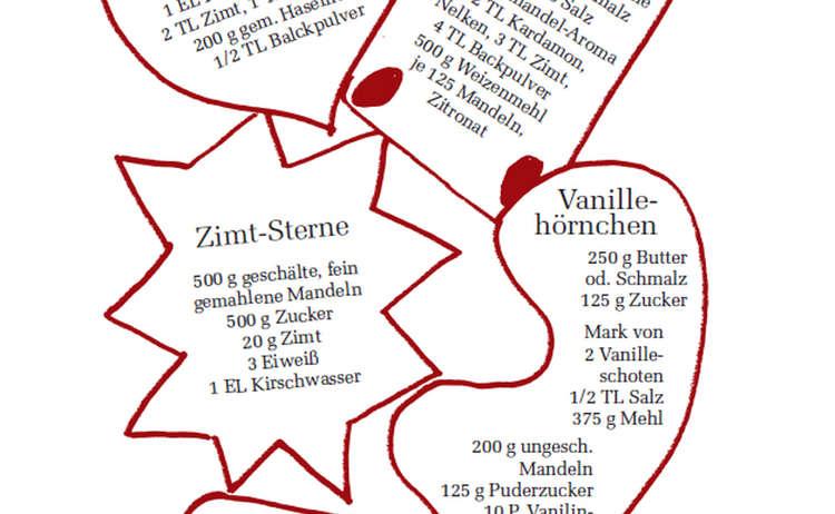 Rezepte von Rosemarie Will aus dem Berchtesgadener Adventsbiachi