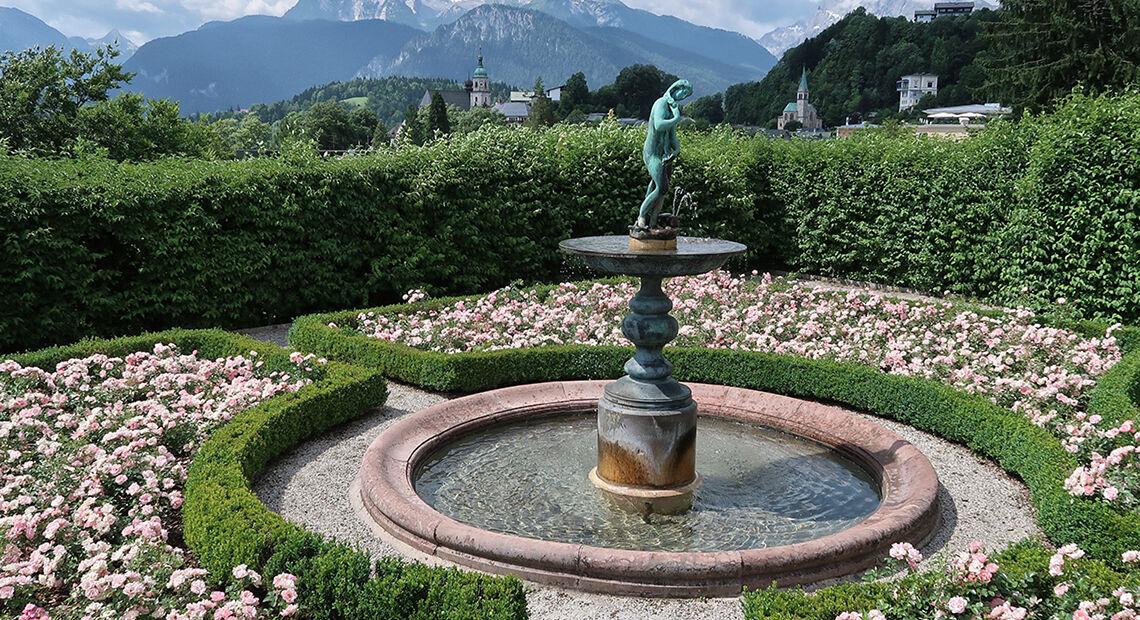 Rosengarten Im Koeniglichen Schloss Bgd