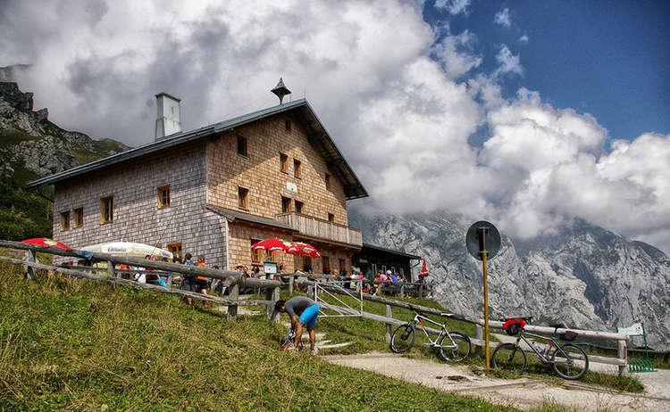 Rund Um Den Hohen Goell Mountainbike Stahlhaus