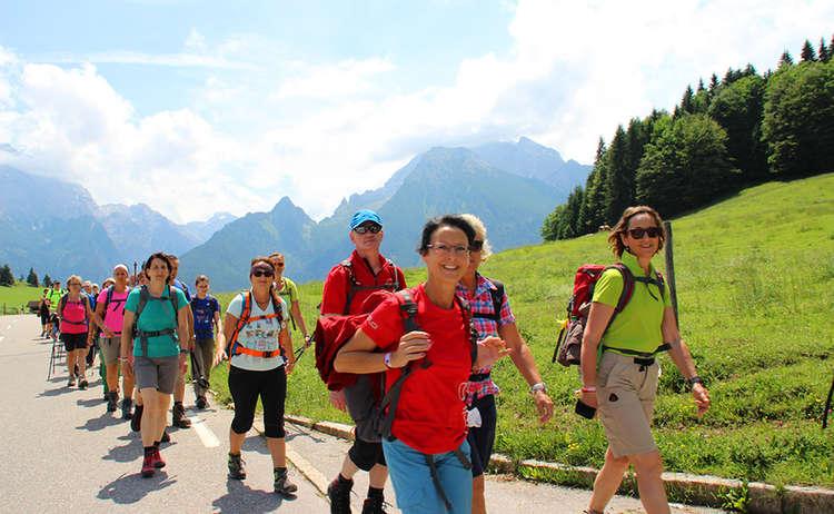 12 Stunden Salzapensteig Tour am Hochschwarzeck