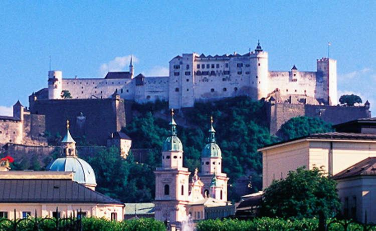 Stadt Salzburg mit Hohensalzburg