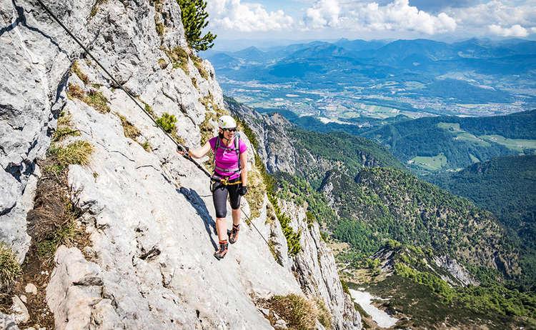 Blick ins Salzburger Salzachtal