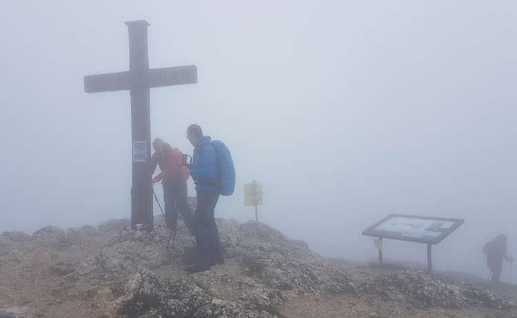 Salzburger Hochthron Untersberg Nebel Untersberg Extrem Wander Festival