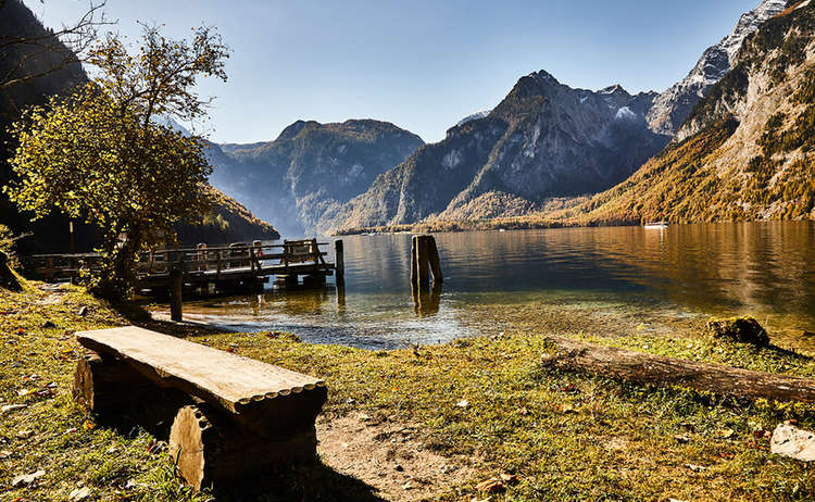 Scenery Lake Koenigssee