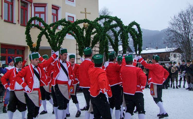 Schaefflertanz Tanz Berchtesgaden