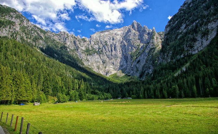 Die Scharitzkehlalm am Obersalzberg | Carl von Linde Weg