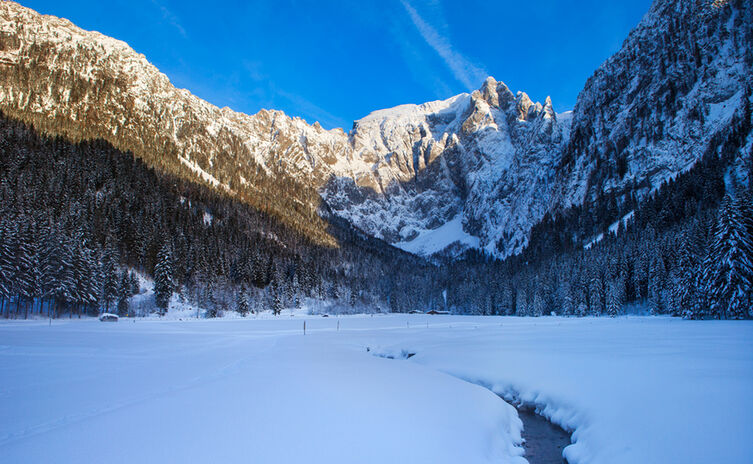Scharitzkehlalm Obersalzberg Winter