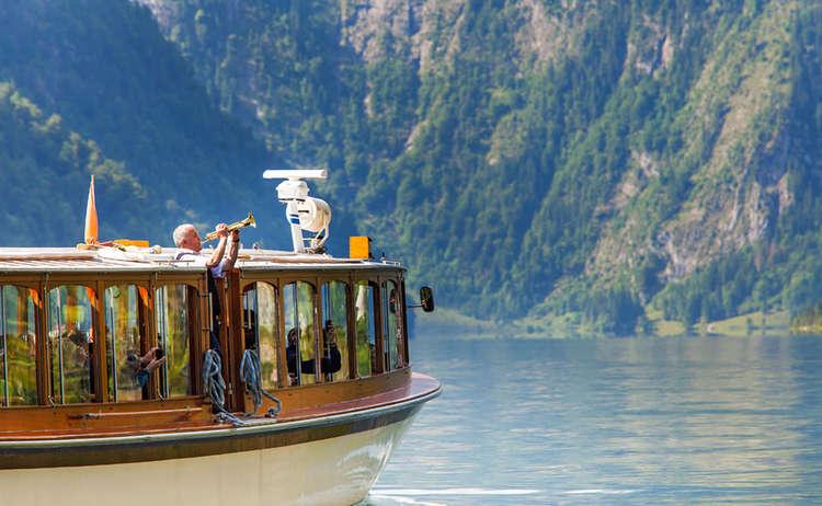 Schifffahrt Koenigssee Echo